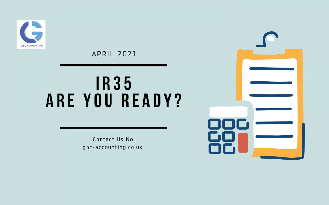 IR35: Arriving in April 2021